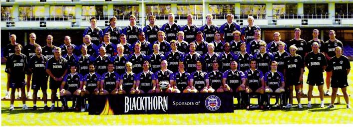Team photo 2005 2006