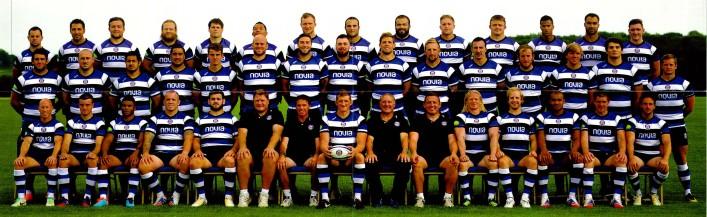 Bath Rugby Squad 2013 2014