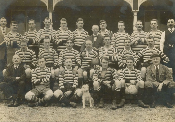 Bath Football Club team 1919 1920