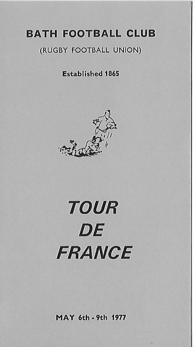 1977 French Tour Bordeaux