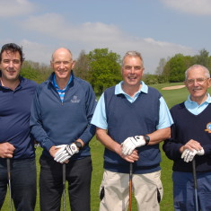 Golf Day Dave Wybourne ,Mike Beese Bruce Thompson Tom Martland