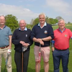 Golf Day, Dai Richards, Phil Scily, Tim Carson, Roger Elliott