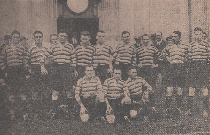 1928 13 September Bath team v Bridgwater