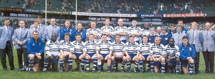 Bath v Leicester Pilkington Cup Final 1996