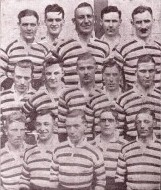 1926 Bath team v Moseley