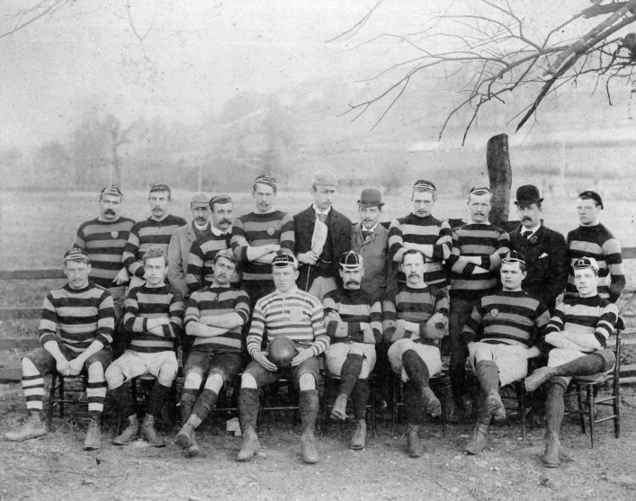 1890-1891 Bath team photo
