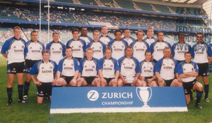 2001 Zurich Premiership Final Squad v Leicester Tigers