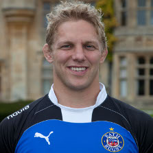 Player Lewis Moody