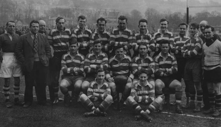 1956 Bath Football Club Team