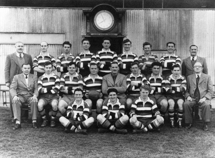 1950-1951 Bath Team photograph