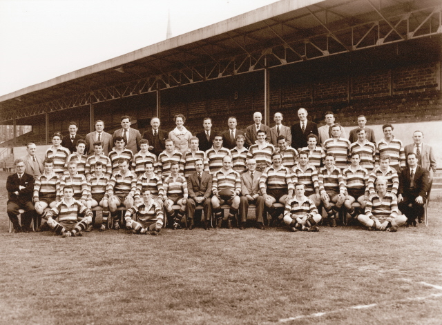 1960 1961 Bath Squad Photograph