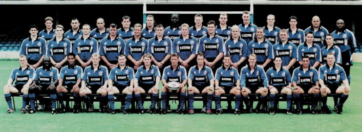 1999 2000 Bath Rugby Squad photograph