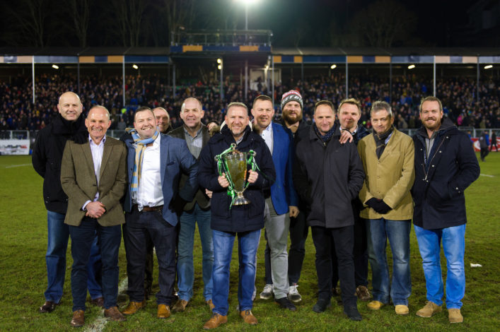 1998 European Cup winning side reunited