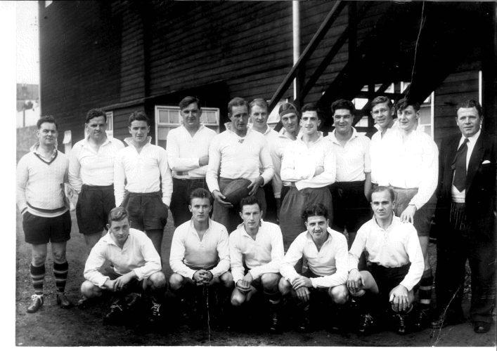 1956 Bath v Bristol at the Memorial Ground Bristol
