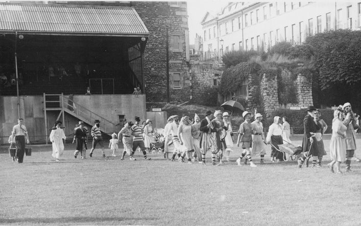1950 The North Stand and site of President's Lounge