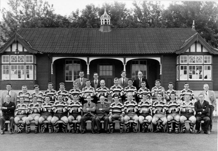 1961-62 Bath Football Club Team and Committee